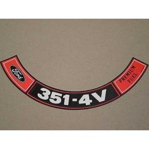 1970-71 351-4V PREM. FUEL A.C.D.