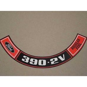 1970-71 FORD 390-2V REG. FUEL A.C.D.