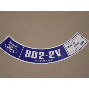 1975-79 302-2V UNLEADED FUEL A.C.D.