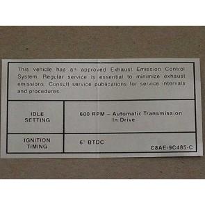 1968 427,428 POL.INTCEP. AT EMISSION