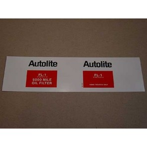 1961-79 AUTOLITE OIL FILTER DECAL