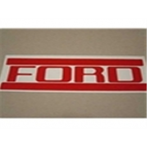 1953-72 FORD STEPSIDE TAILGATE LETTERS RED