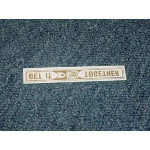 1975-84 FORD PROD SEAT BELT WINDOW DECAL