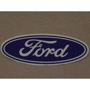 "3 1/2"" FORD OVAL CLEAR"