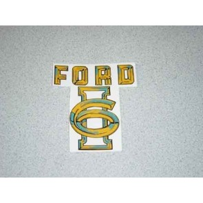 1955 FORD TRUCK I-6 VALVE COVER DECAL