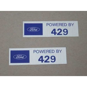 POWERED BY 429 VALVE COVER DECAL pr.