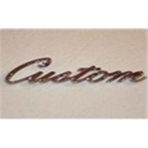 "70-72 Bedside Emblem - ""Custom"""