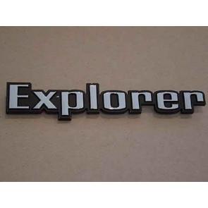"""73-79 Bedside Emblem - """"Explorer"""""""
