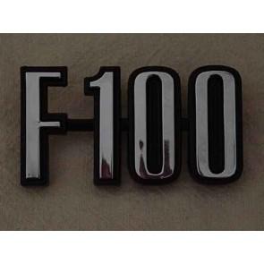 """73-76 Front Fender & Bed Emblem - """"F100"""""""