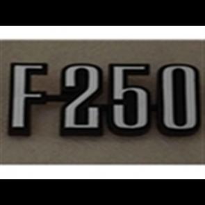 """73-76 Front Fender & Bed Emblem - """"F250"""""""