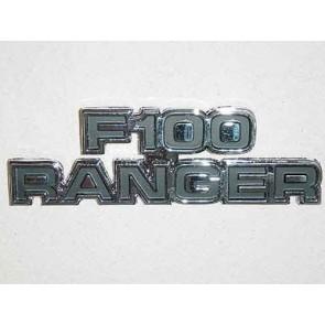 """77-79 Cowl Side Emblem - """"F100 Ranger"""""""