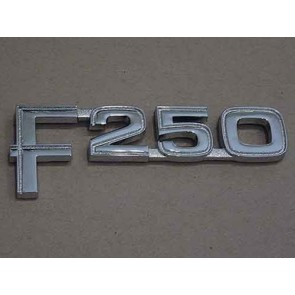 "82-86 Front Fender Emblem - ""F250"""