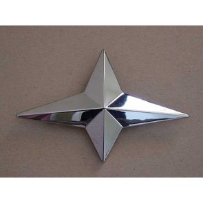 "54 Grille Emblem Star - "" 6cyl """