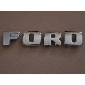 "48-52 Grille Letter Set - ""FORD"" - except '51"