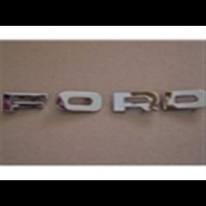 """65-66 Grille Letter Set - """"FORD"""""""