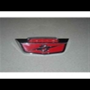 "61-66 Hood Front Emblem - ""6 cyl"""