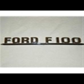"""53-54 Hood Emblem Set - """"Ford F100"""""""