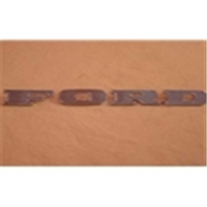 """67-69 Hood Front Letters - """"FORD"""""""