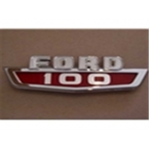 """63-66 Hood Side Emblem - """"Ford F100"""""""
