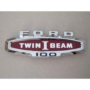 """66 Hood Side Emblem - """"Twin I Beam"""""""