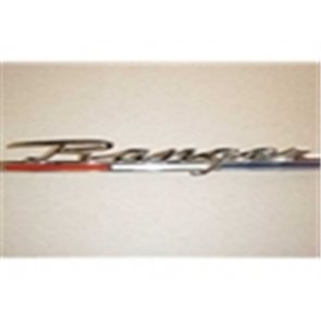 "67-69 Quarter Panel Name Plate - ""Ranger"""