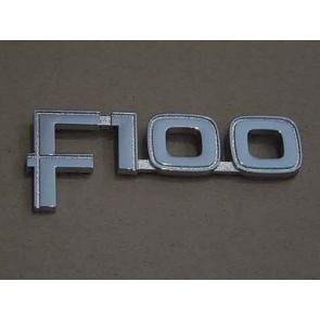 "82-84 Front Fender Emblem - ""F100"""