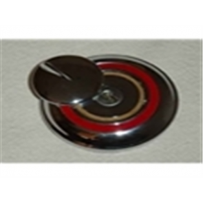 48-50 Gas Cap - locking w/ flipper cover