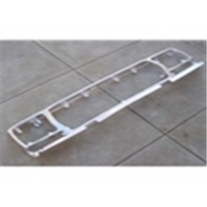 78-79 Grille Shell - aluminum reproduction w/ chrome anodized finish