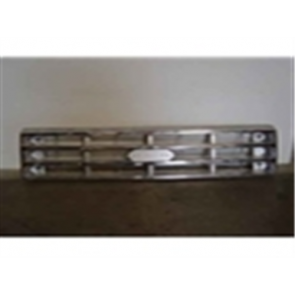 87-91 Grille - Chrome/Silver
