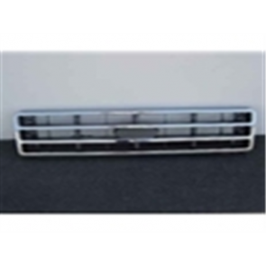 87-91 Grille - Chrome/Gray