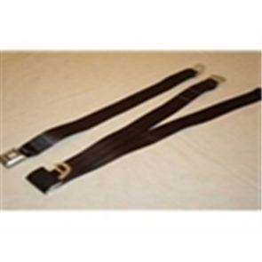 56-86 Bench Replacement Seat Belts - Black