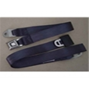 56-86 Bench Replacement Seat Belts - Blue