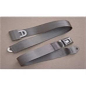 56-86 Bench Replacement Seat Belts - Gray