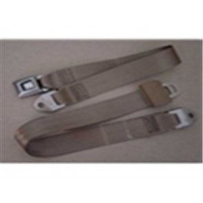 56-86 Bench Replacement Seat Belts - Saddle