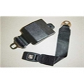 65-86 Bucket Seat Retractable Seat Belt - Black