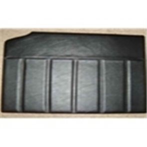 56 Door Panel Set - Black  Vinyl