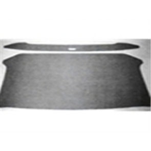 61-63 Headliner - Gray - 2pc plain w/o wraparound rear window - OE tooling - Unibody - comes with clip kit