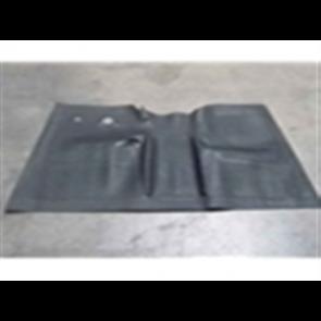48-52 Floor Mats - Rubber - Black