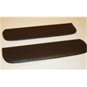 53-56 Sun Visor - Pad Set - Black