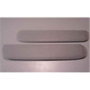 53-56 Sun Visor - Pad Set - Gray