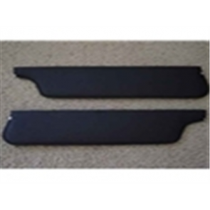 67-69 Sun Visor Set - w/o bracket - Black