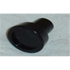 57 Knob - Air Vent or Choke - Black