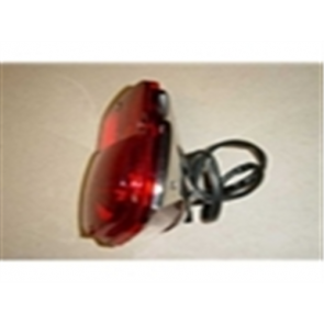 53-66 Assembly - Taillight - Stepside - RH - stainless steel