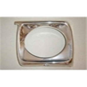 67-69 Bezel - Headlight - Aluminum - LH