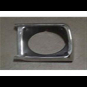 70-72 Bezel - Headlight - Chrome - LH