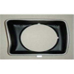 78-79 Bezel - Headlight - LH - round style - OE Tooling - reproduction available for $21.95