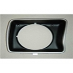 78-79 Bezel - Headlight - RH - round style - OE Tooling - reproduction available for $21.95