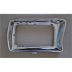 78-79 Bezel - Headlight - Chrome - RH - rectangular style - OE Tooling