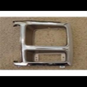 80-81 Bezel - Headlight - Gray Chrome - LH