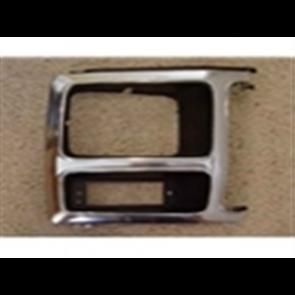 80-86 Bezel - Headlight - Black Chrome - RH